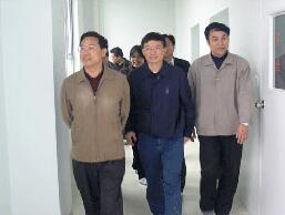 国家工商行政管理总局副局长,原重庆市委常委、常务副市长马正其视察华森