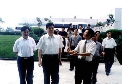 山东省委书记,原重庆市委副书记姜异康视察华森
